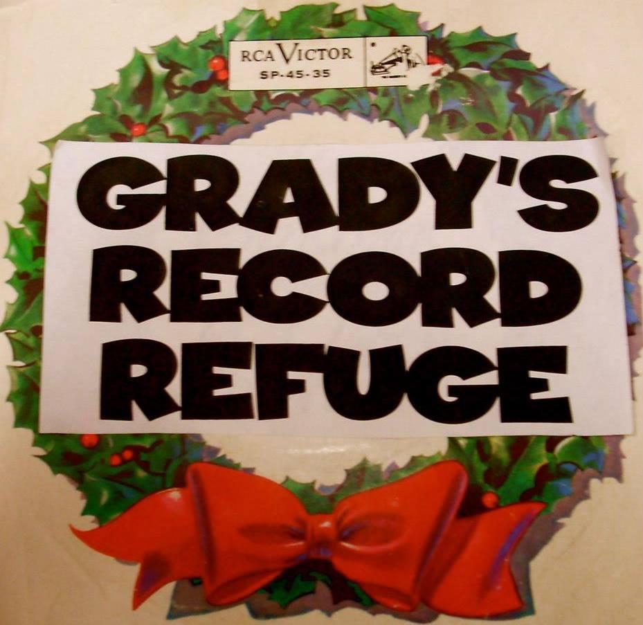 Grady's Record Refuge logo