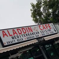 Aladdin Cafe logo