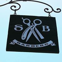 Santa Barbara Barbers logo
