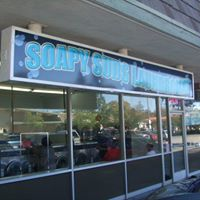Soapy Suds Laundromat logo