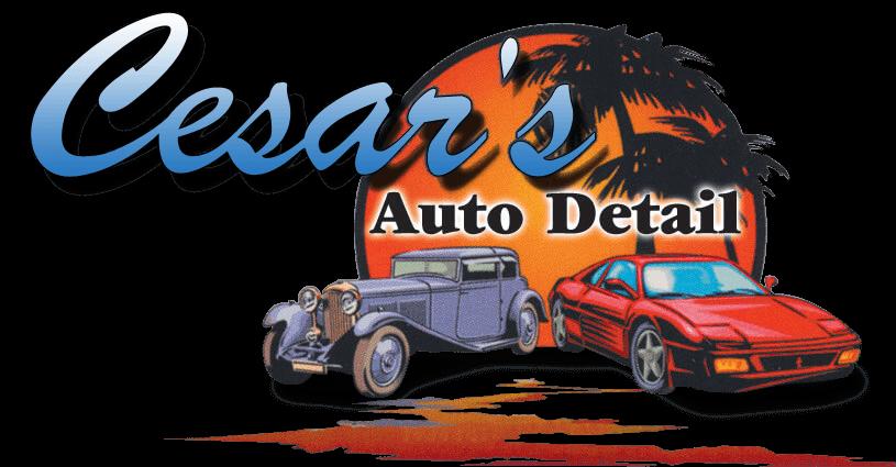 Cesar's Auto Detailing logo