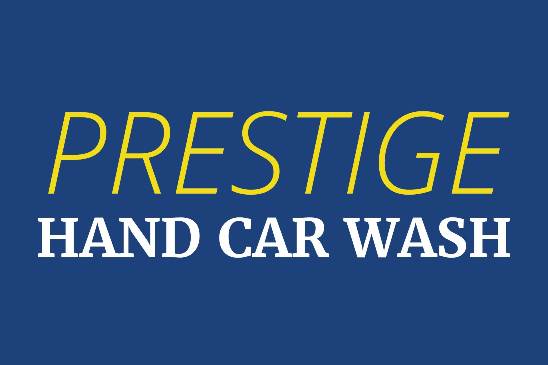 Prestige Hand Car Wash & Detail Center logo