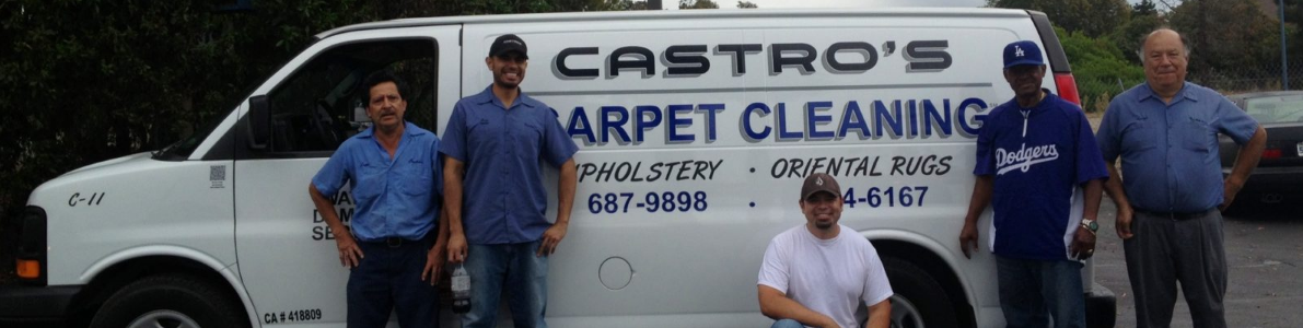 Castro's Carpet Cleaning Co logo