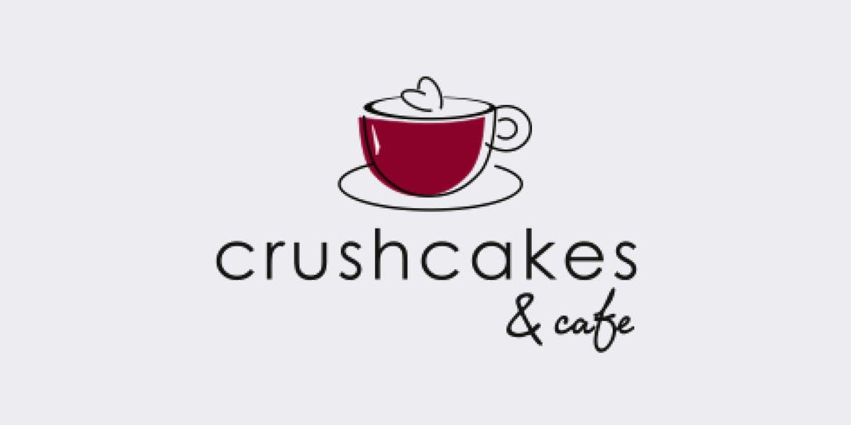 Crushcakes And Cafe logo