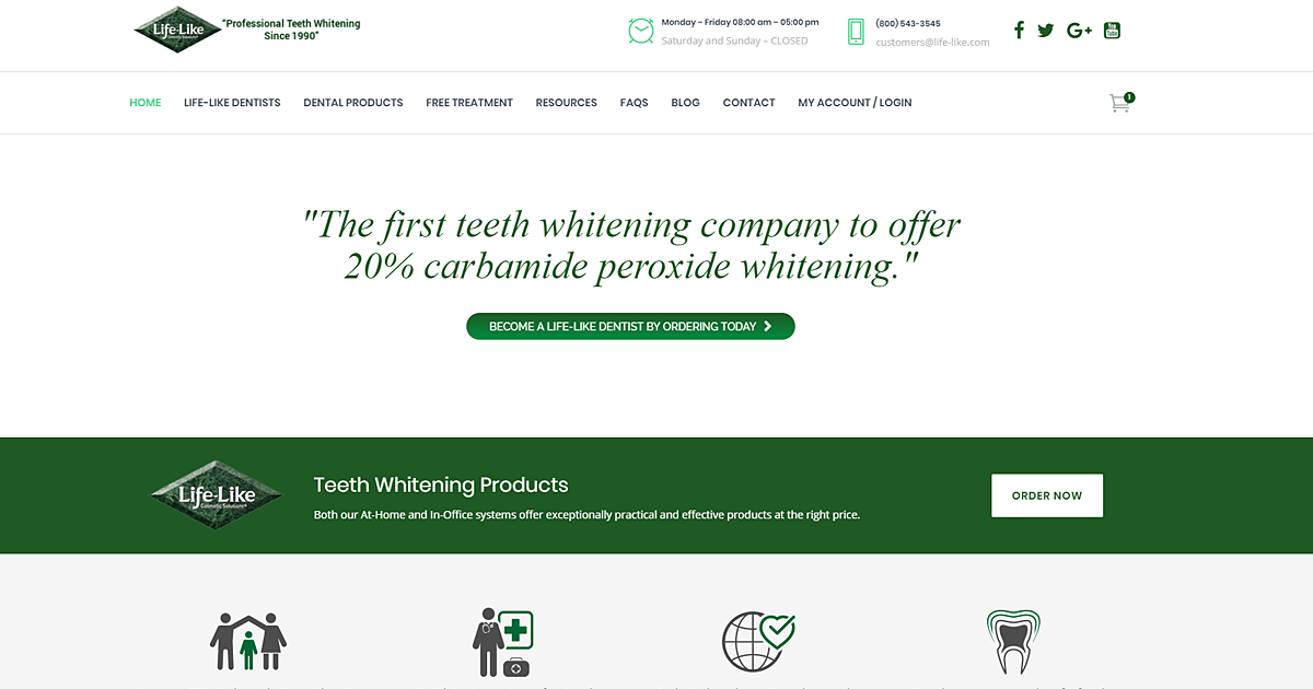 Harbor Dental Bleaching logo