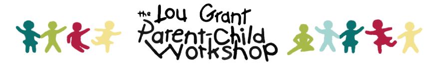 Lou Grant-Parent-Child Workshop logo