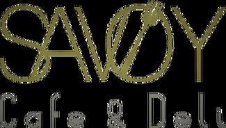 Savoy Cafe & Deli logo