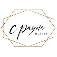 C Payne Notary logo