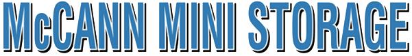 McCann Mini Storage logo