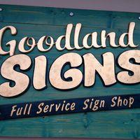 Goodland Signs logo