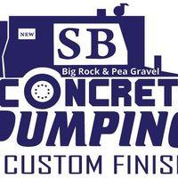SB Concrete Pumping logo
