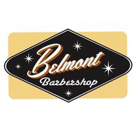 Belmont Barbershop logo