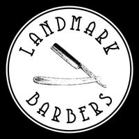 Landmark Barbers Shaving Parlor & Lounge logo