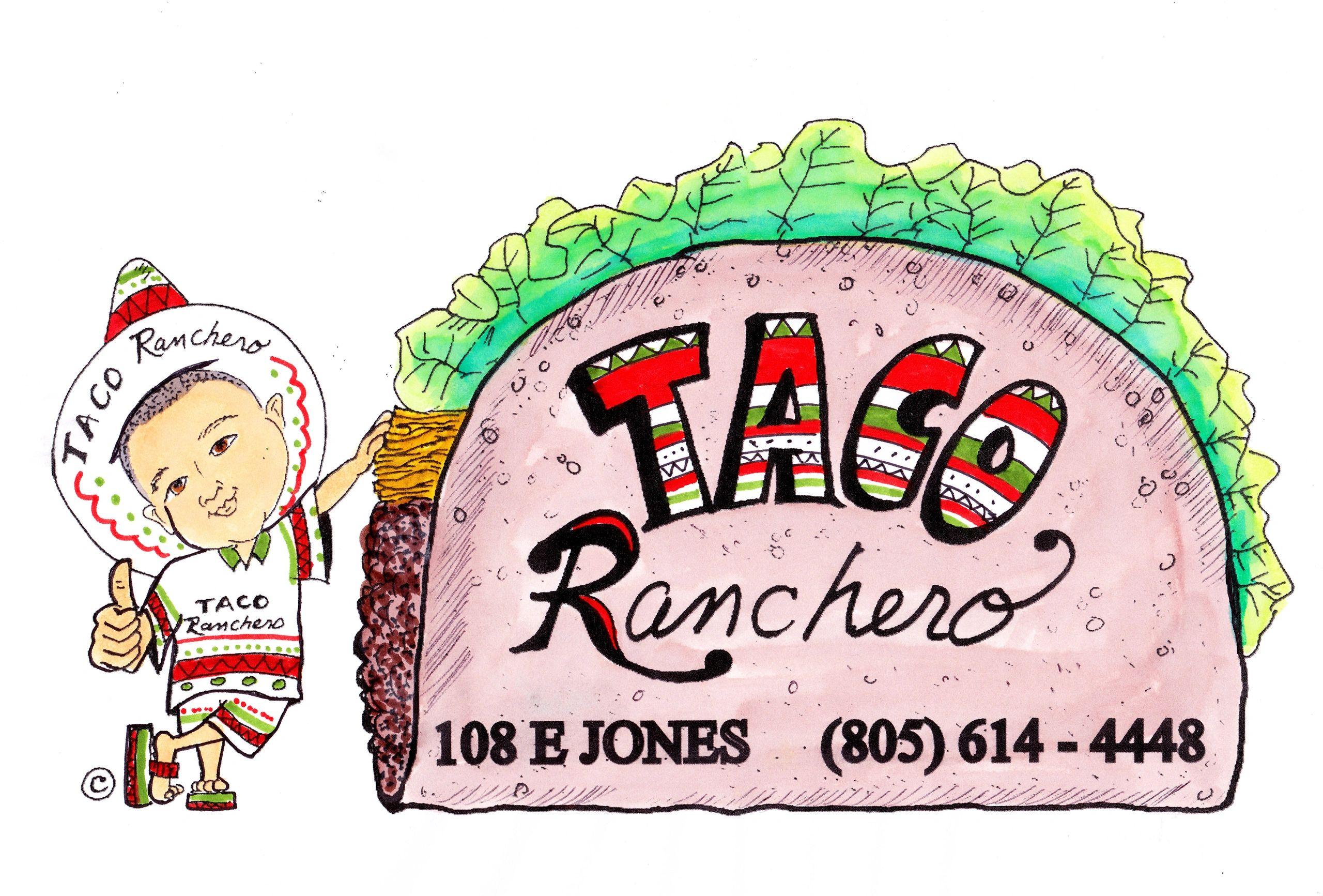 Taco Ranchero logo