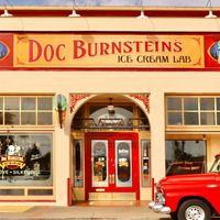 Doc Burnsteins Ice Cream Lab logo