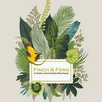 Finch & Fern home & garden logo