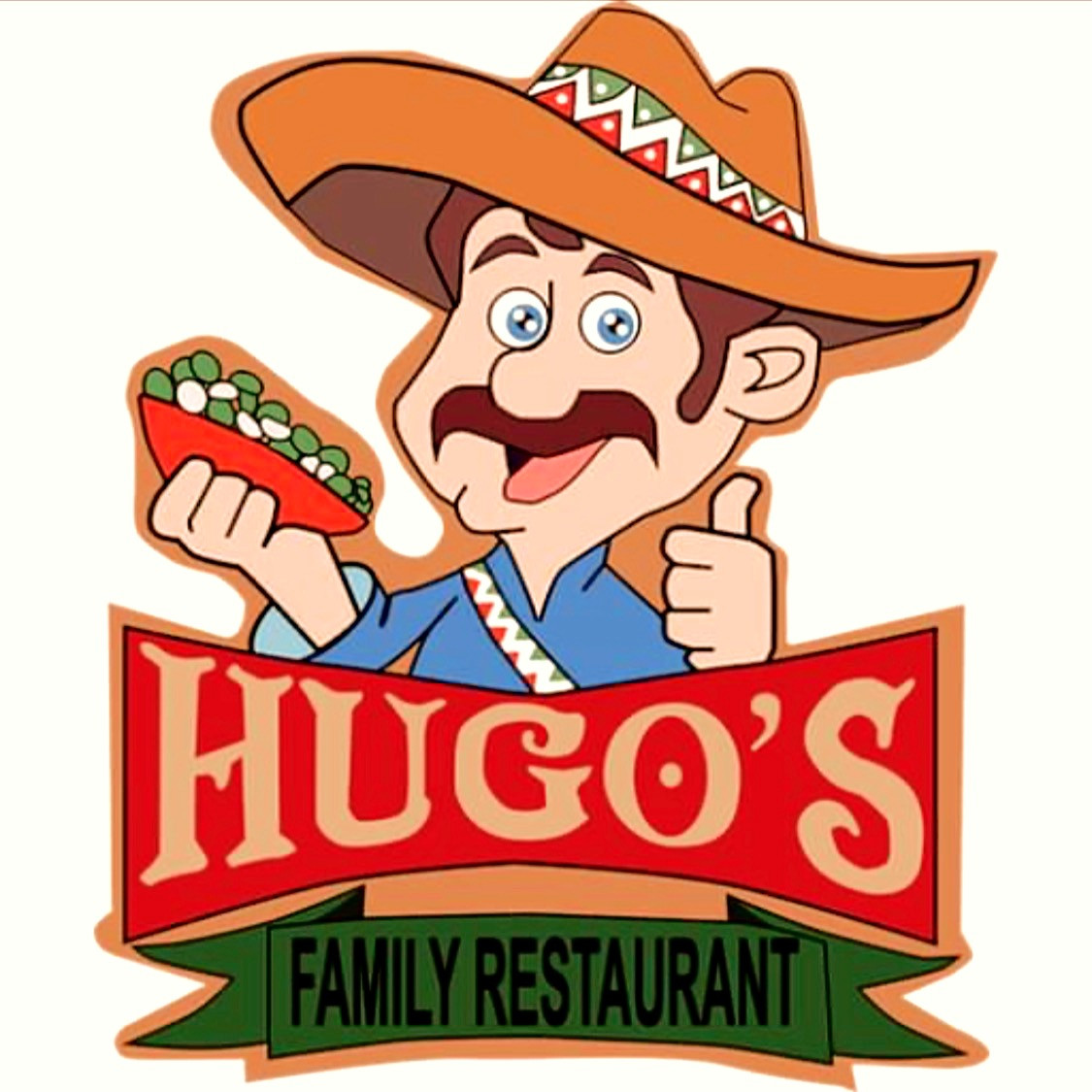 Hugo's Family Restaurant logo