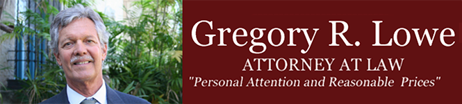 Lowe Gregory Attorney At Law logo