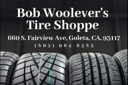 Bob Woolever's Tire Shoppe logo