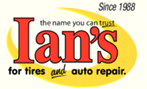 Ian's Tire & Auto Repair logo