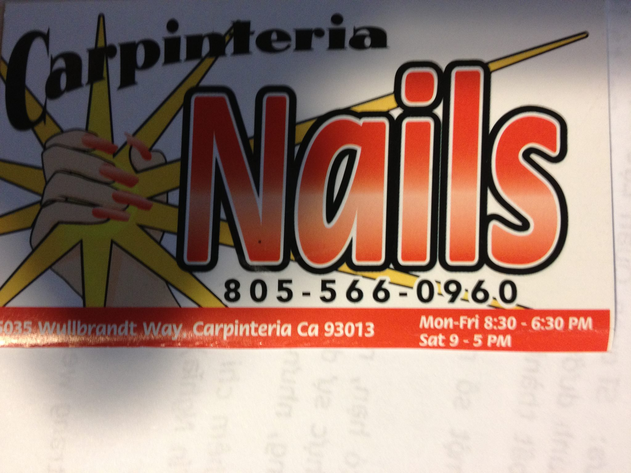 Carpinteria Nails logo