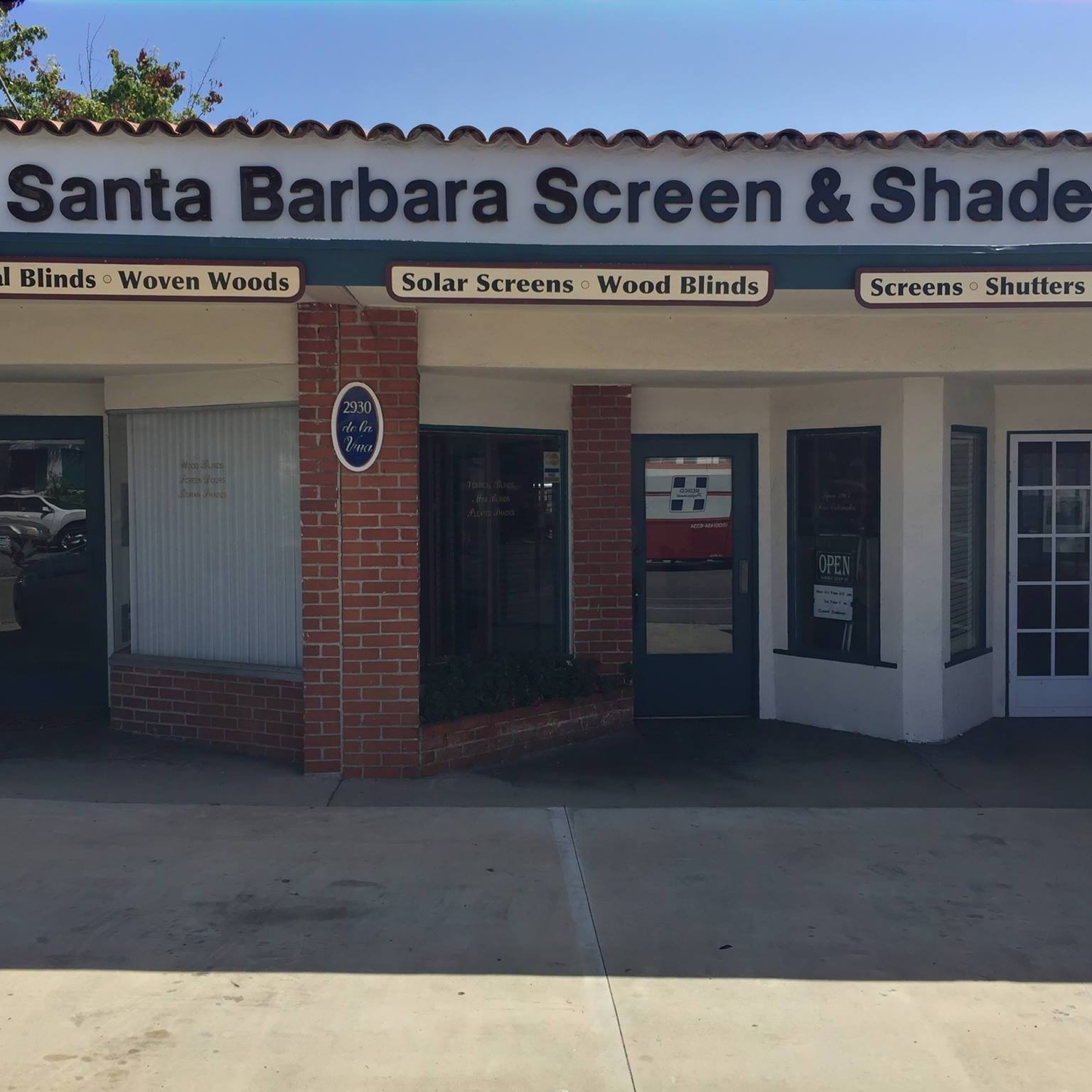 Santa Barbara Screen And Shade  logo