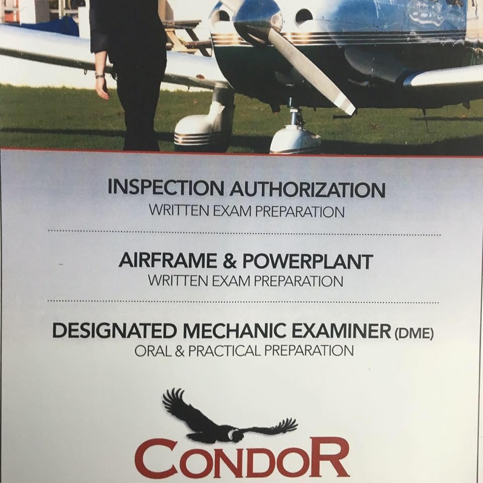 Condor Aircraft Technical School  logo