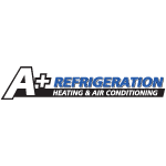 A + Refrigeration Heating & Air Conditioning logo