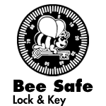 Bee Safe Lock & Key logo
