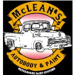 McLean's Auto Body & Paint logo
