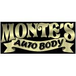Monte's Auto Body logo
