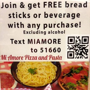 Photo uploaded by Mi Amore Pizza & Pasta