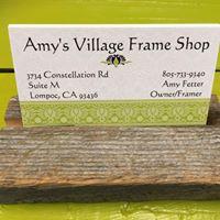 Amy's Village Frame Shop logo