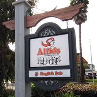 Alfie's Fish & Chips logo