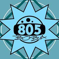 805 Boba logo