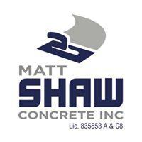 Matt Shaw Concrete Inc logo