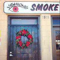 Vishions Smoke Shop logo
