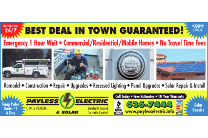 Photo uploaded by Payless Electric & Solar