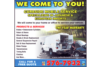 Photo uploaded by Curbside Mobile Service