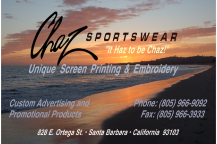 Photo uploaded by Chaz Sportswear & Embroidery