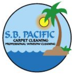 S B Pacific Window Cleaning logo