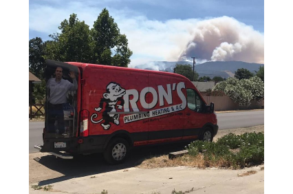 Photo uploaded by Ron's Plumbing Heating & Ac