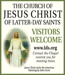 Yellow Pages Ad of Church Of Jesus Christ Of Latter-Day Saints