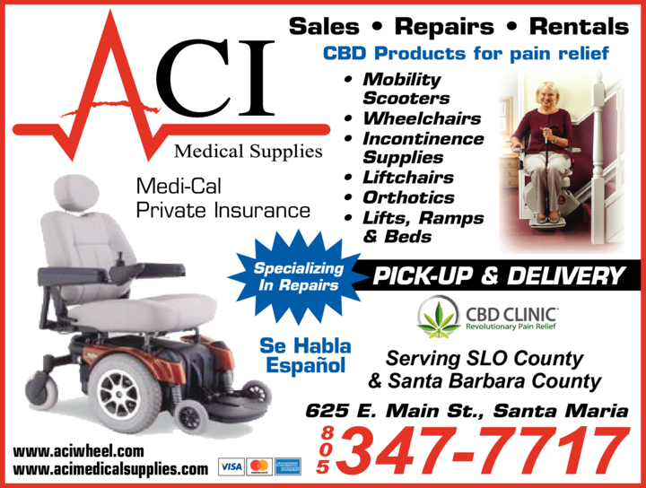 Yellow Pages Ad of Aci Medical Supplies