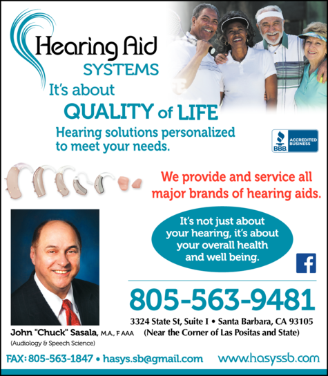 Yellow Pages Ad of Hearing Aid Systems