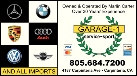 Yellow Pages Ad of Garage-1