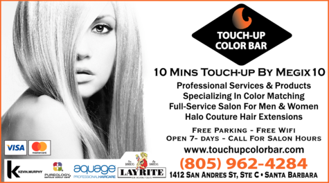 Yellow Pages Ad of Touch-Up Color Bar