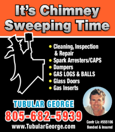 Yellow Pages Ad of Clean Sweep Co Chimney Service