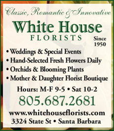 Yellow Pages Ad of White House Florists