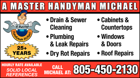 Yellow Pages Ad of A Master Handyman Michael